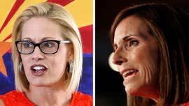 Martha McSally accuses Kyrsten Sinema of supporting 'treason' in fiery Arizona Senate debate