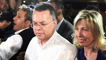 Pastor Brunson, freed from Turkey, to meet with Trump upon return to US, president says