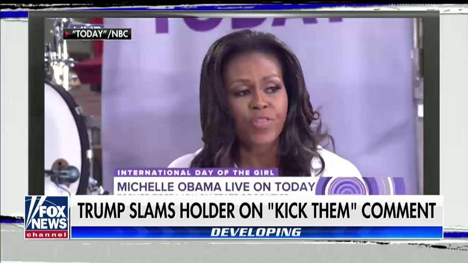 Laura Ingraham on Holder, Michelle Obama