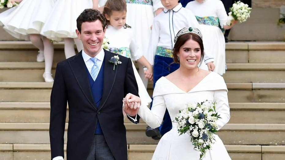 Princess Eugenie marries Jack Brooksbank at Windsor Castle