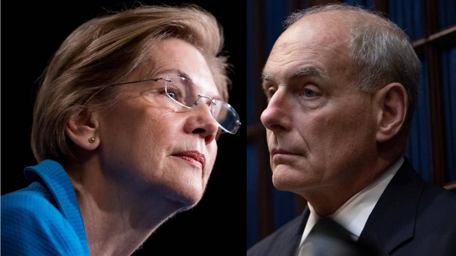 John Kelly calls Elizabeth Warren 'impolite and arrogant'