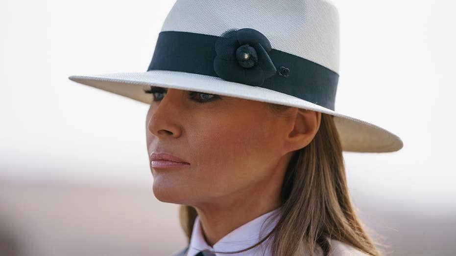 Melania says she was 'blindsided' by family separations