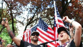 Patriot Prayer rally in Portland, Ore., leads to 6 arrests as groups clash