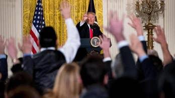 Trump's marathon media blitz