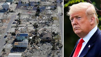 Trumps to tour Hurricane Michael damage in Florida