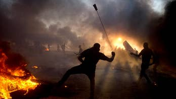 Protests escalate on the Gaza Strip