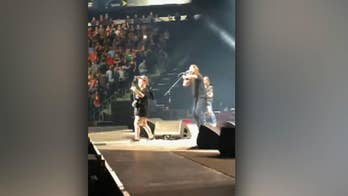 Foo Fighters, 10-year-old boy perform Metallica at concert