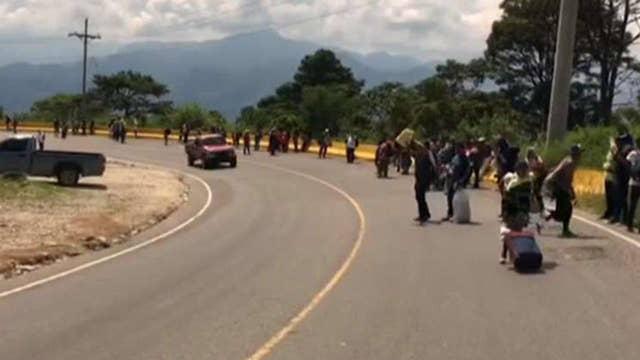 Second migrant caravan travels to the US