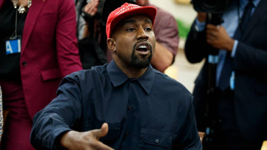 Kanye's visit to the White House sparks debate