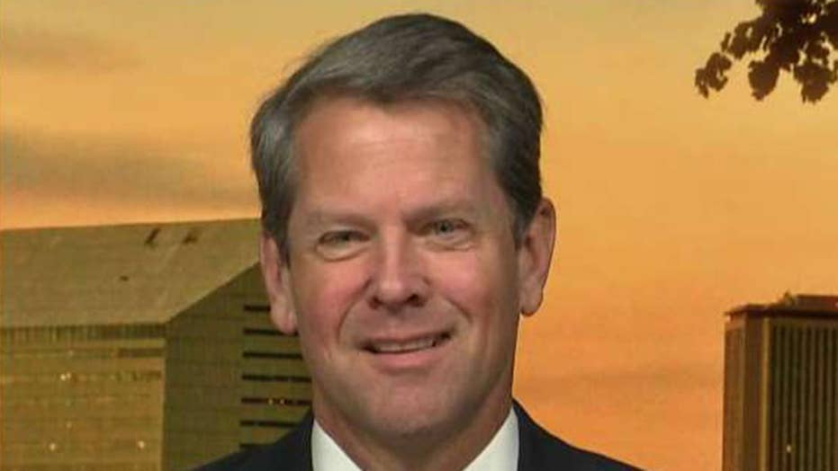Kemp: 'Shocking' claim by opponent on illegal immigrants