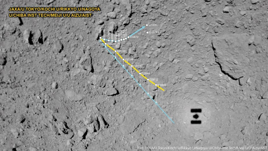 MASCOT Lander images reveal 'crazy' asteroid Ryugu surface