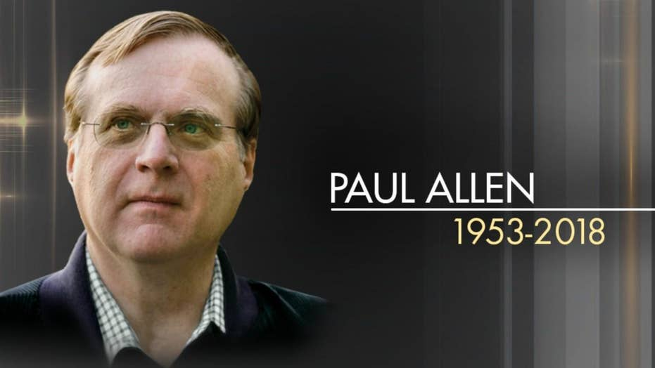 Paul Allen, co-founder of Microsoft, dead at 65