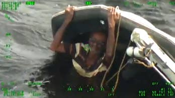 Boater rescued on Florida lake describes scary ordeal