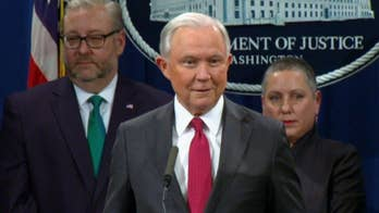 Sessions says he's 'pleased and honored' to be AG after Trump again signals recusal disappointment