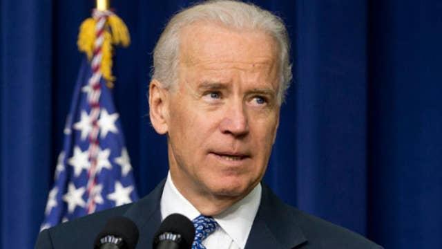 Joe Biden leads crowded 2020 Democratic field