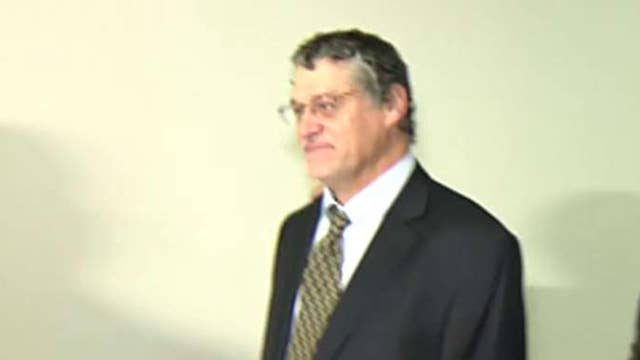 Fusion GPS co-founder arrives on Capitol Hill