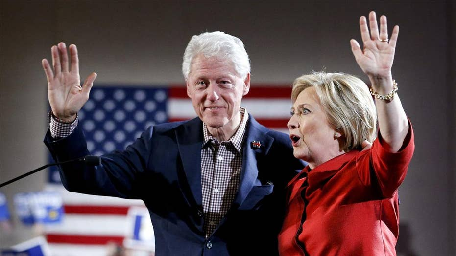 Hillary Clinton is still creation excuses for Bill