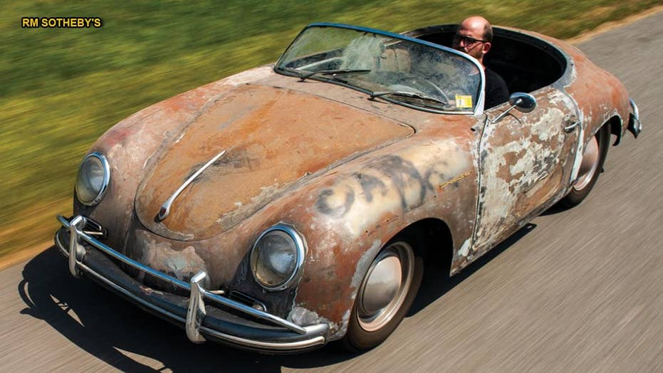 Car Auction Apps >> Rusty 1958 Porsche 356 stored for 35 years worth small fortune | Fox News