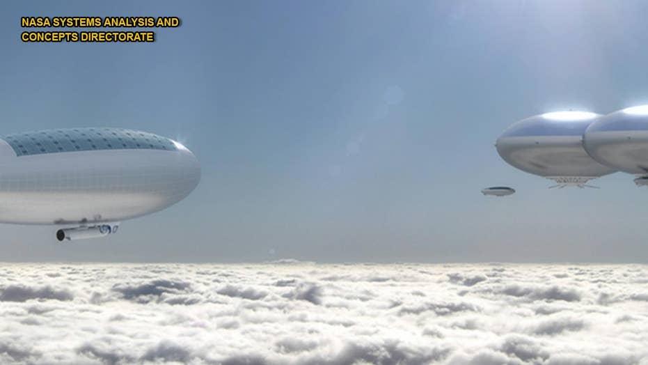 NASA eyes stunning airship concept to explore Venus