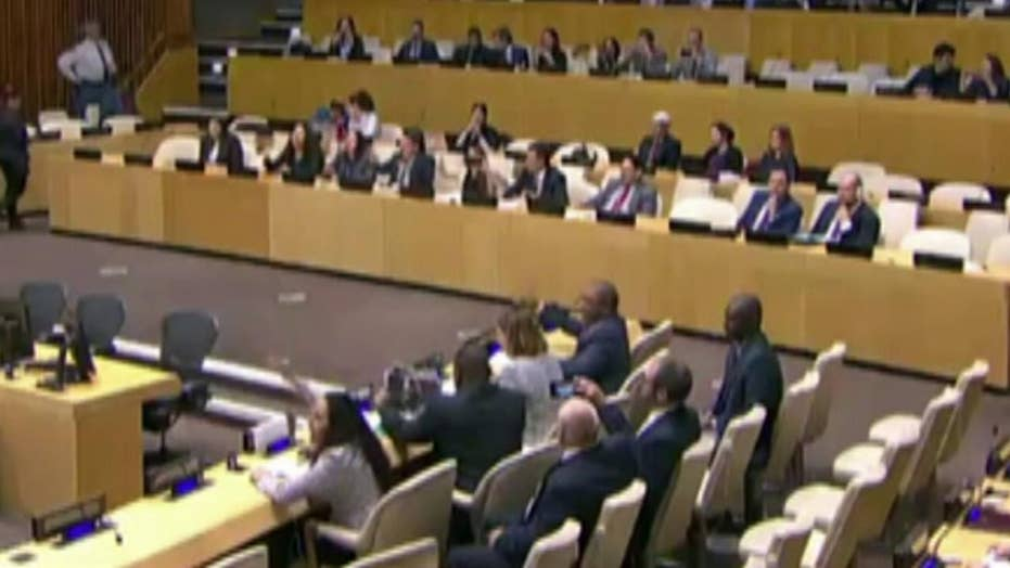 Protestors interrupt UN event on Cuban political prisoners