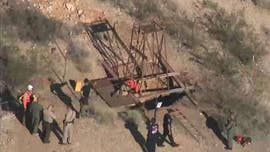 Arizona rescuers try saving man stuck in mine shaft for days