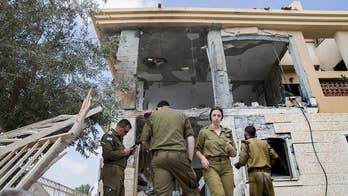 Rocket fired from Gaza Strip destroys Israeli house