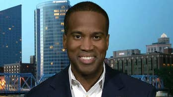 John James hoping for comeback win with Trump's help