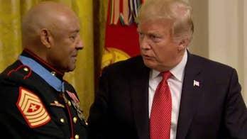 Marine veteran, 80, receives Medal of Honor for Vietnam bravery