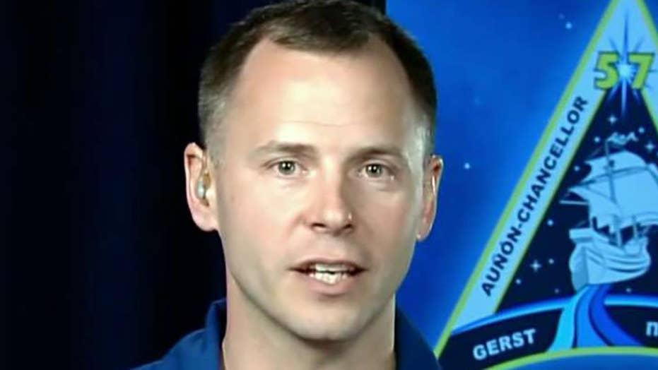 US astronaut describes aborted launch aboard Soyuz rocket