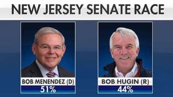 Hugin cutting into Menendez's lead in NJ Senate race