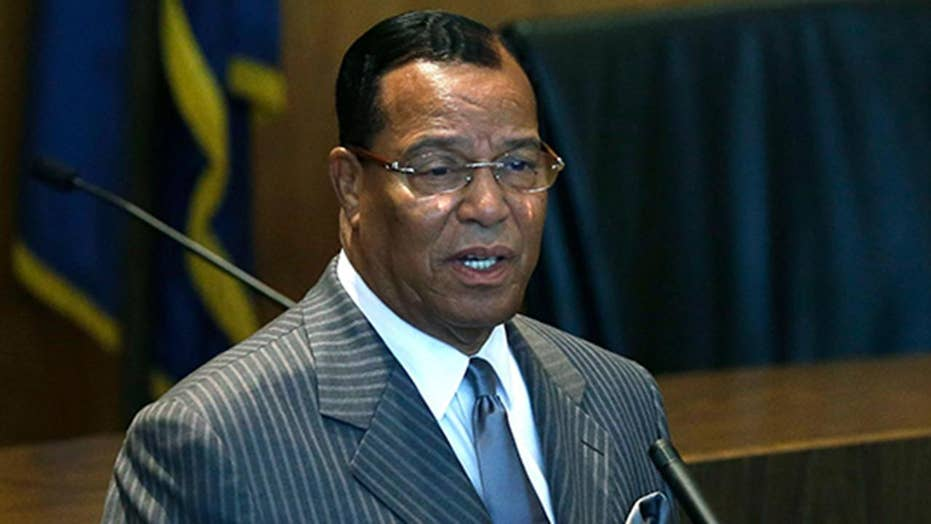 Biden meeting Dems with Farrakhan ties the same day as funeral for officer killed by Farrakhan supporter