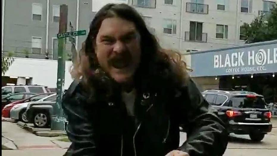 Ted Cruz protester goes on rampage, screams 'I hate Ted Cruz'