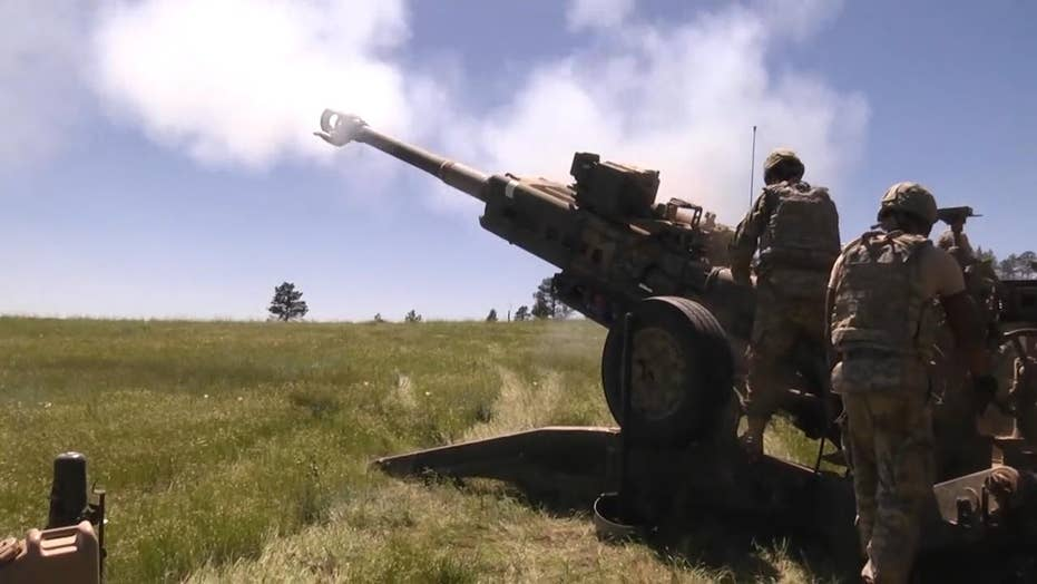 Watch as US artillerymen test M777 Howitzers