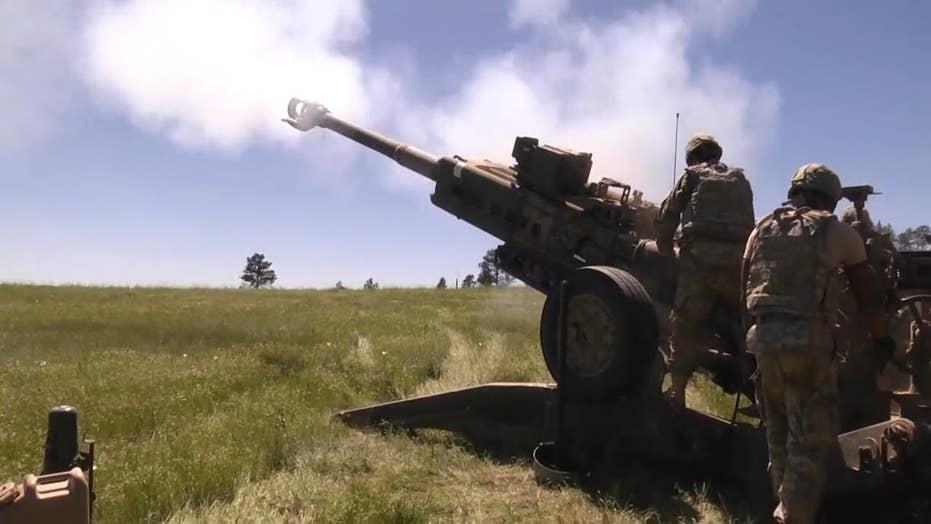 Watch as US artillerymen test M777 Howitzers