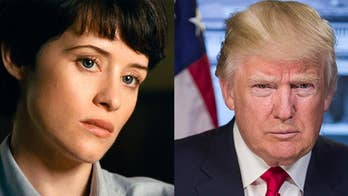 Claire Foy compares President Trump to a penis