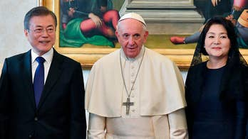South Korea's president visits the Vatican