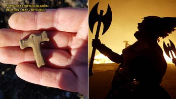 Viking 'Thor's Hammer' discovered in Iceland