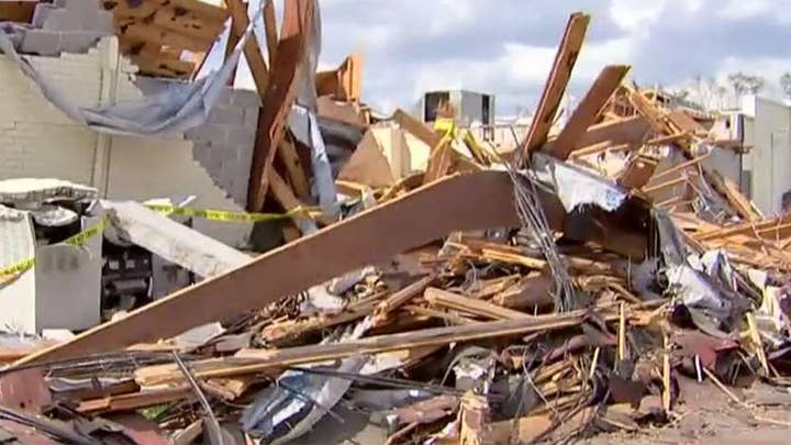 Firefighter killed removing Hurricane Michael debris