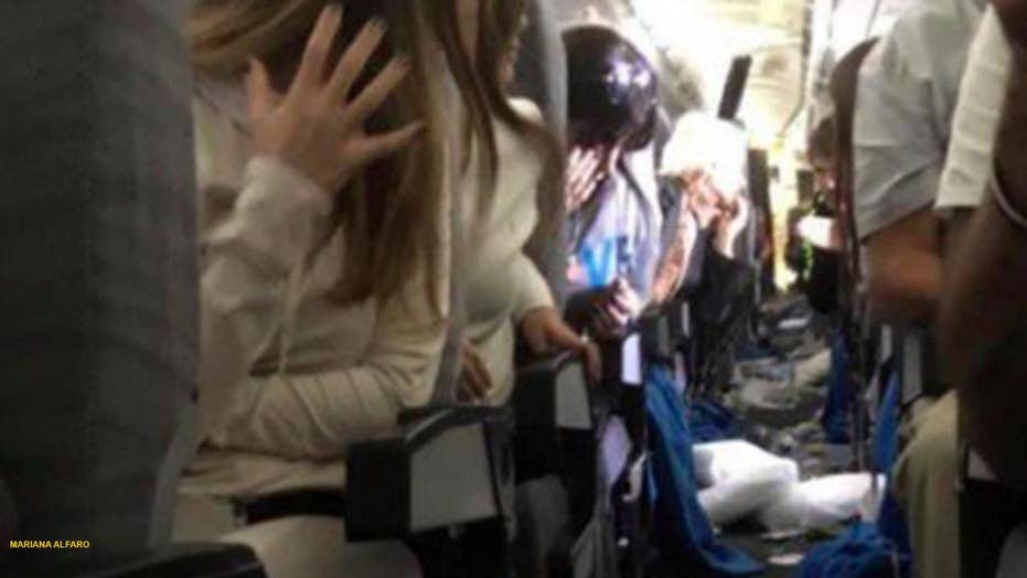 Flight leaves more than a dozen passengers injured
