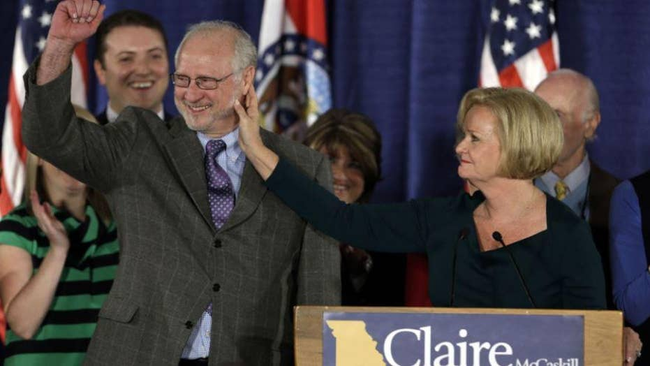 Claire McCaskill's husband accused of abuse by ex-wife