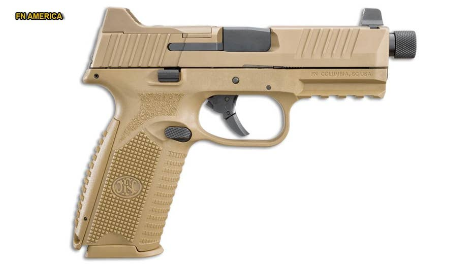 Handgun designed for military now available to civilians