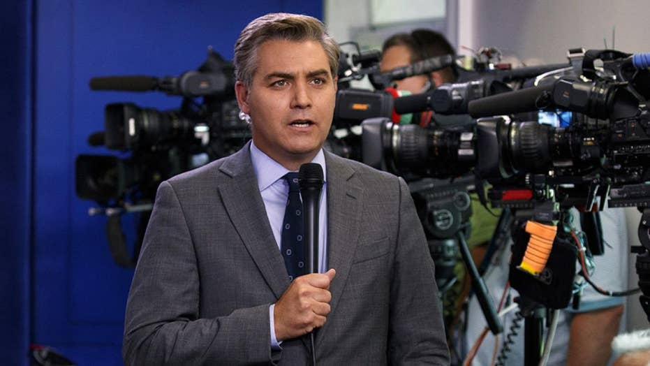 CNN's Jim Acosta sent vulgar tweet to ex-Melania Trump staffer