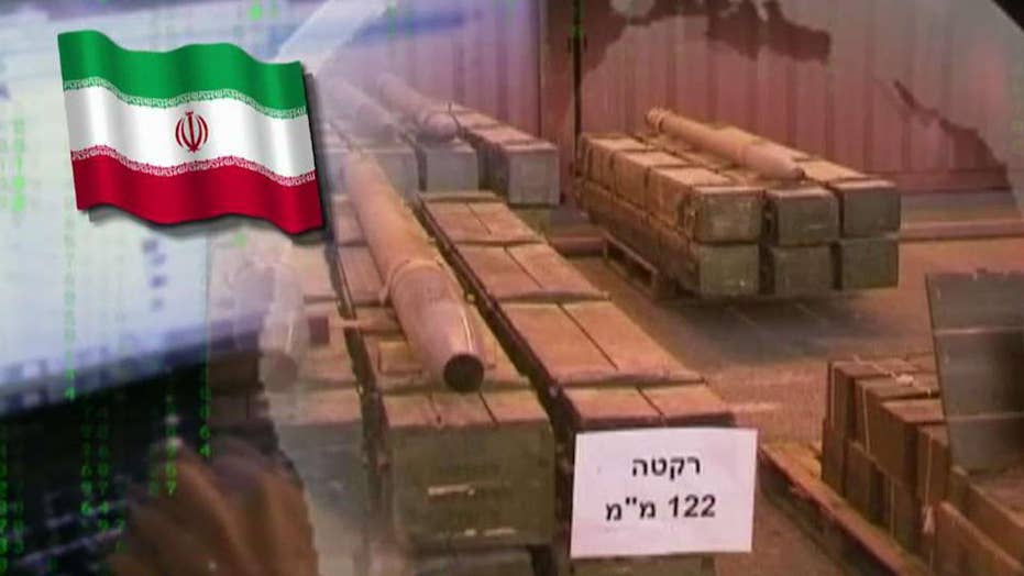 Iran accused of shipping advanced weapons to Hezbollah