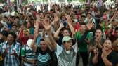 Migrant caravan stuck on Guatemalan border with Mexico