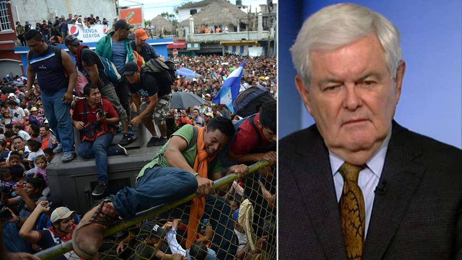 Gingrich: Caravan is an act of attacking US sovereignty