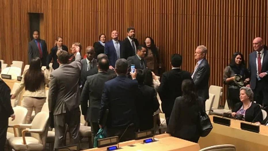 Cuban diplomats disrupt UN meeting on human rights