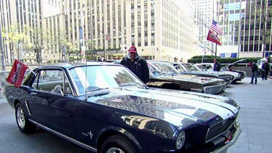 'Fox & Friends' hosts muscle car show on Fox Square