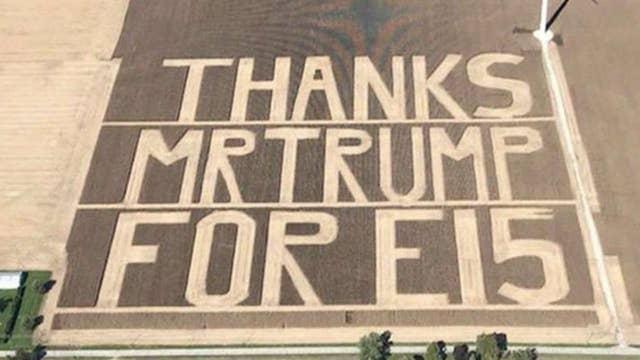 Farmer thanks Trump in a big way for ethanol boost