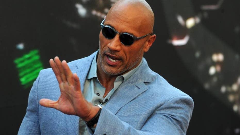 Dwayne 'The Rock' Johnson vs CNN reporter