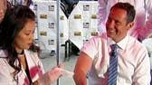 'Fox & Friends' hosts get flu shots on Fox Square
